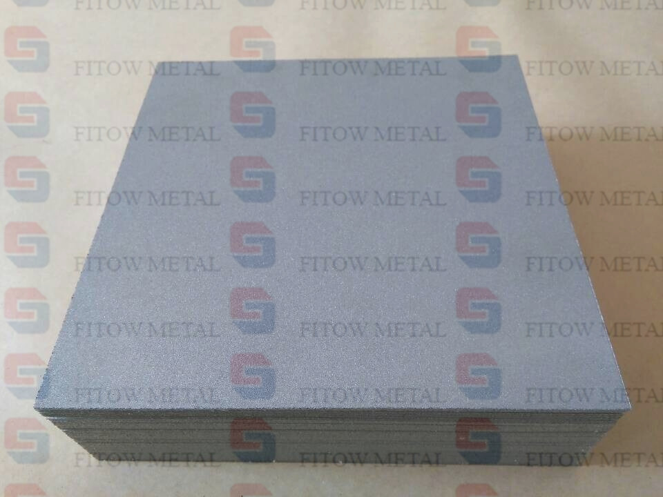 titanium metal powder sintered microporous filter plate