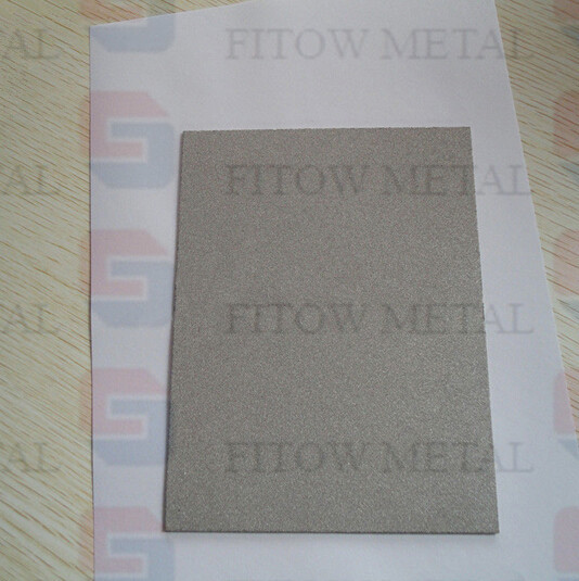 porous filter plates Sintered Metal Plate