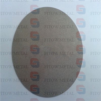 powder sintered Titanium microporous filter plate