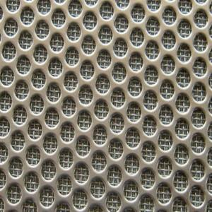 Perforated Sintered 304 316 316L Stainless Steel Mesh