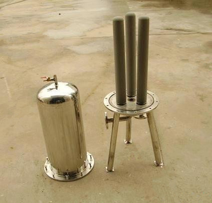 Porous Sintered Stainless Steel Water Filter Housing for Water Purifier