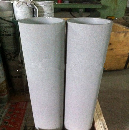 Titanium powder sintered filter tubes