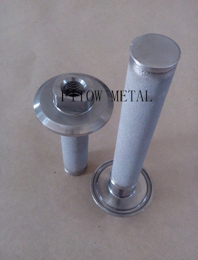 Mirco Sintered Metal Powder Tube, NPT Connection, Filter Usage Carbonation Stone