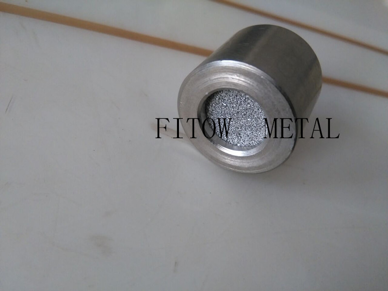 sintered stainless steel disc with SS housing