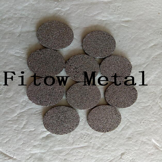Sintered Metal 316L Stainless Steel Filter Disc 25.4 and 20MM