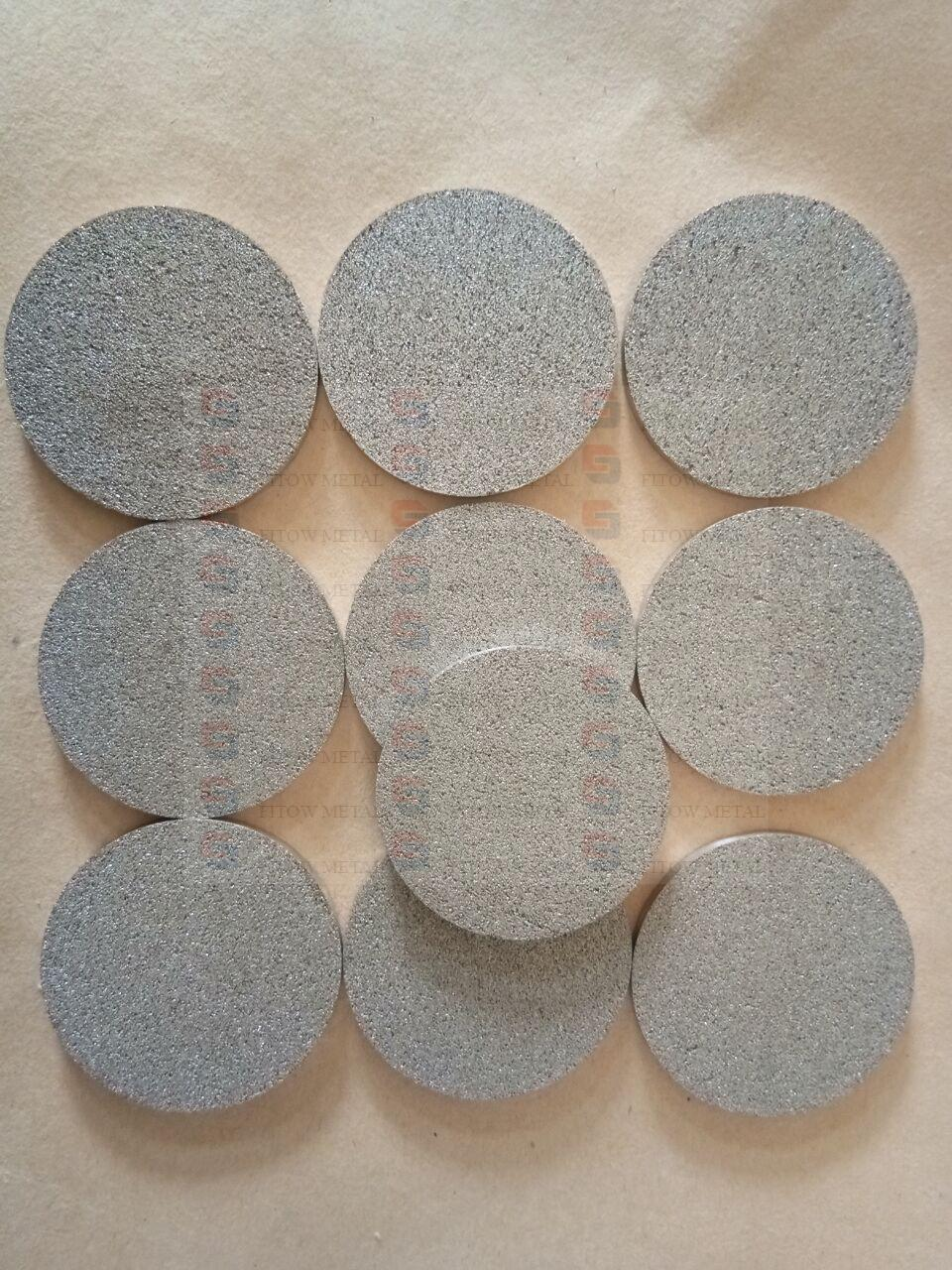 titanium sintered filter discs,  Disc 45*3mm T1 filtration class