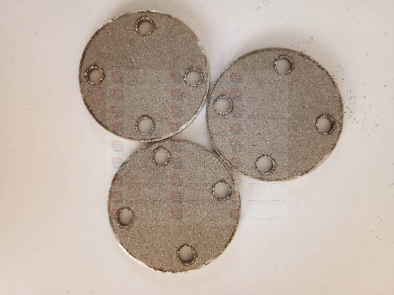 Sintered titanium Porous Metal Filter sheets plates