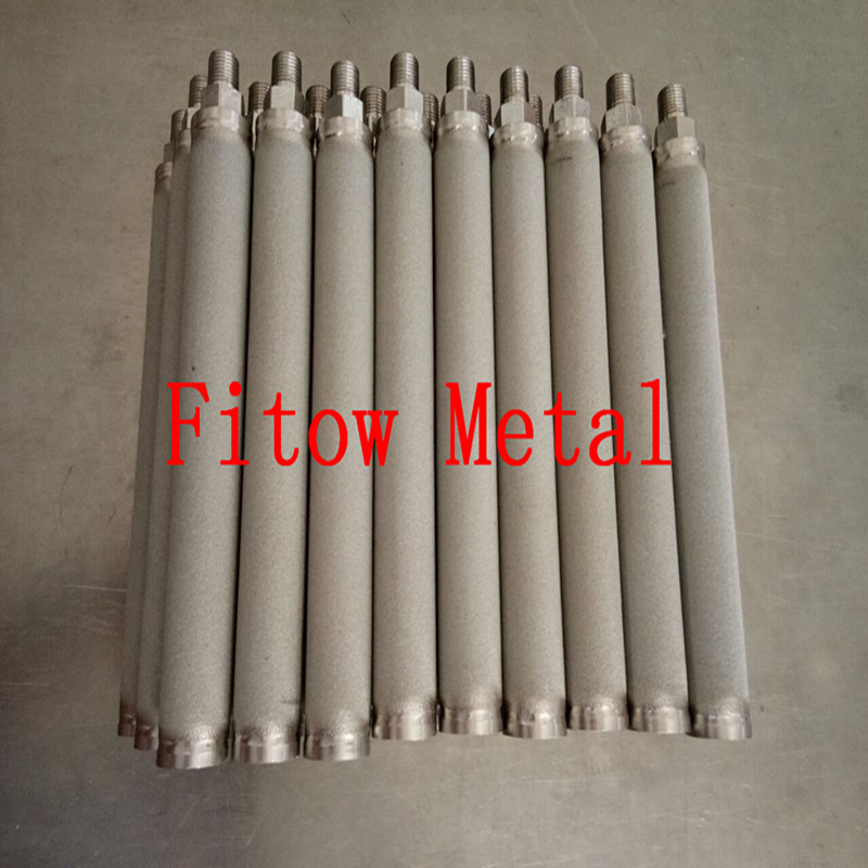 sintered stainless steel powder metallurgy filters cartridge OD25