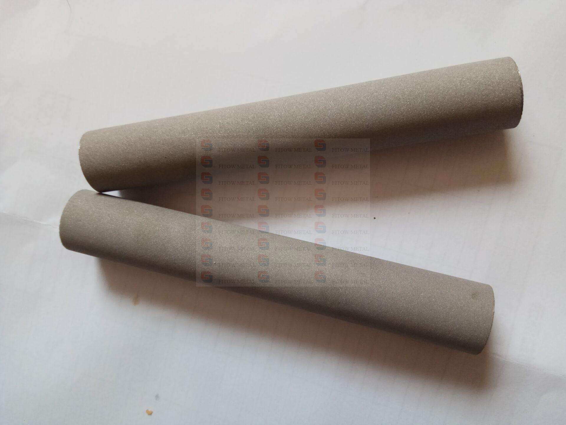 Sintered Porous Titanium Cartridge Filter Tube OD18