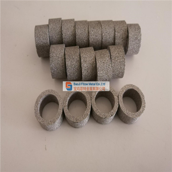 SS316L stainless steel sintering filter ring
