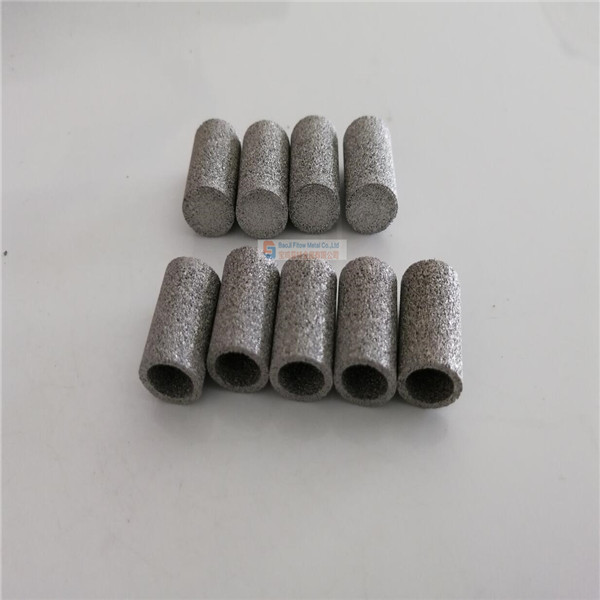 porous Sintered stainless steel filter Pipe OD12.5