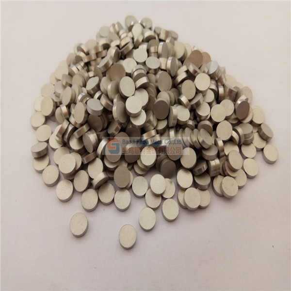 Sintered Stainless Steel Powder Filter Disc 6.4mm