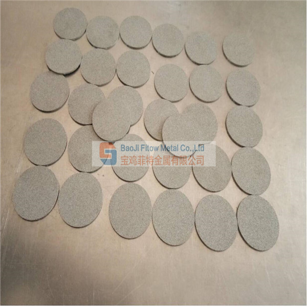 Inconel 600 nickel alloy Sintered filter  disc dia50*2Mm