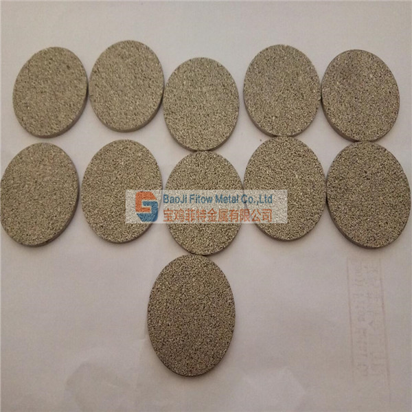 Titanium Sintering microporous filter plate T1 filtration class