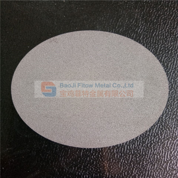 Microns porous Sintered Nickel Filter Disc 10um