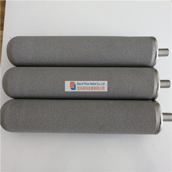 Stainless Steel Powder Sintered Filter Cartridge D50*300