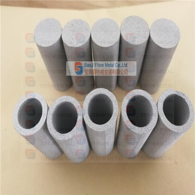 Sintered metal porous filters Tubular OD20*70MM