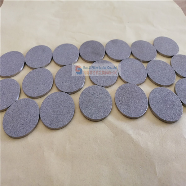 sintered stainless steel filter discs 2*33mm