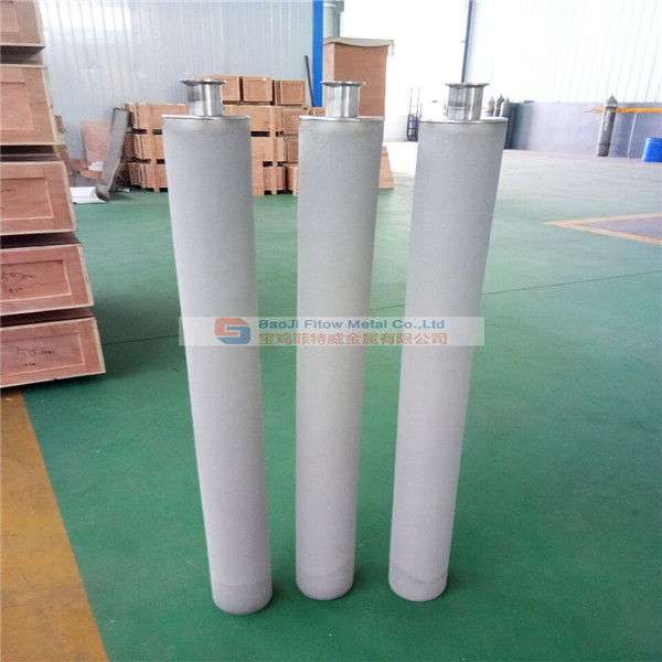 Stainless Steel Sintered Porous Filter Cartridge OD100*