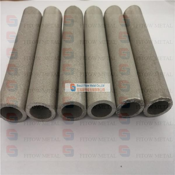 Monel Sintered Porous Metal Filter Tube OD22.8